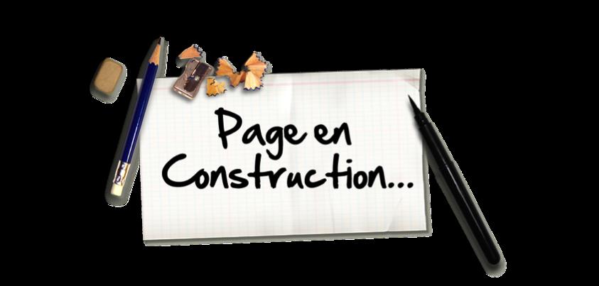 page en construction